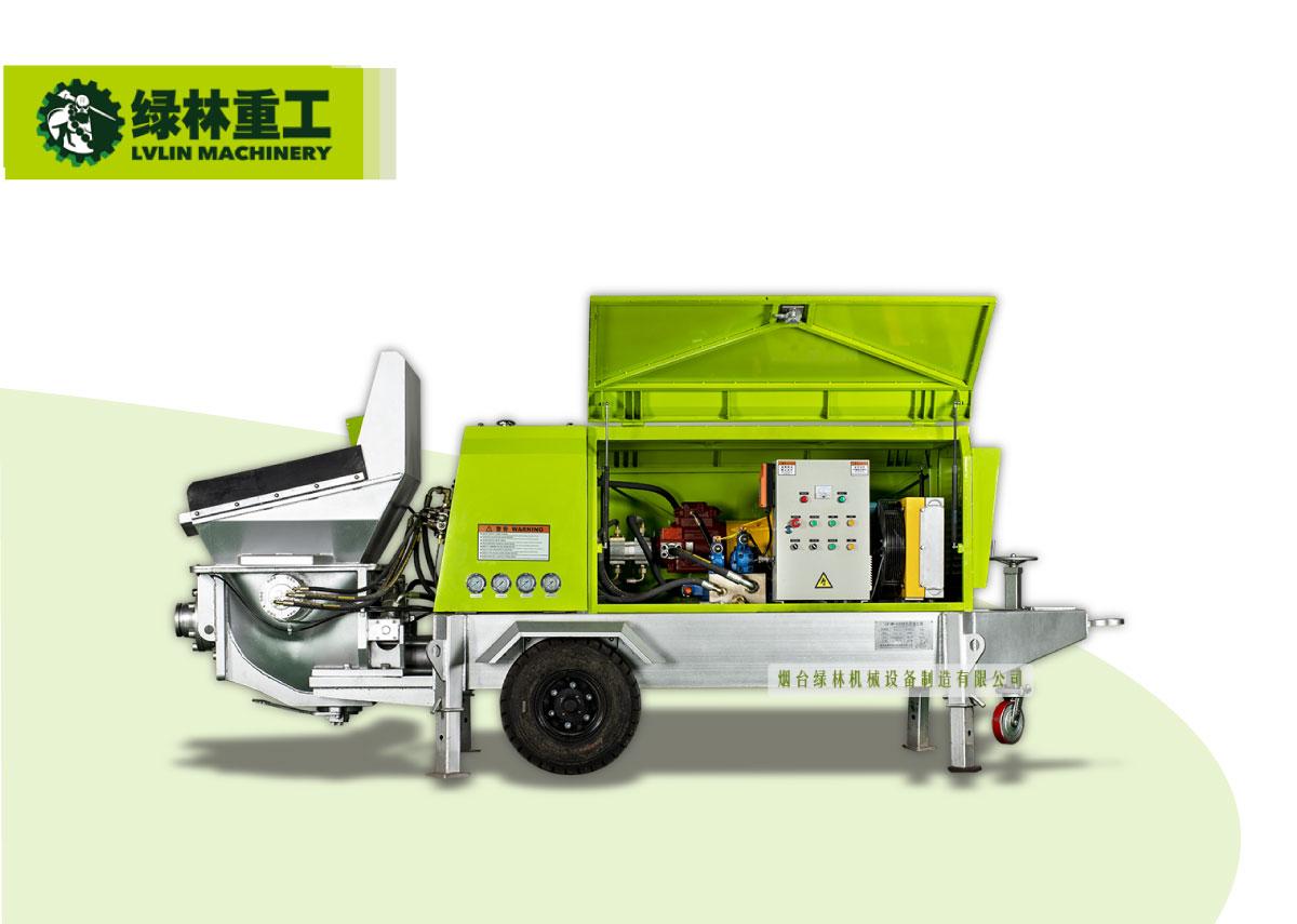 (电动)细石混凝土泵系列